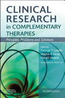 Clinical Research in Complementary Therapies