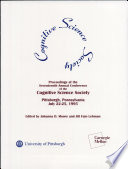 Proceedings of the Seventeenth Annual Conference of the Cognitive Science Society