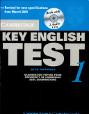 Cambridge Key English Test 1 With Answers