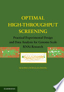 Optimal High Throughput Screening