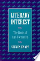 Literary Interest book