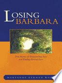 Losing Barbara book