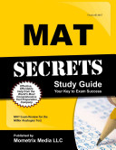 MAT Secrets  MAT Exam Review for the Miller Analogies Test