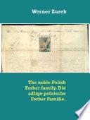 The Noble Polish Ferber Family Die Adlige Polnische Ferber Familie