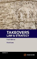 Takeovers Law and Strategy