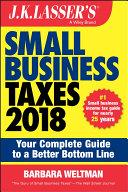 J K  Lasser s Small Business Taxes 2018