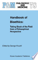 Handbook of Bioethics