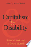 Capitalism and Disability Book PDF