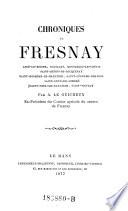 Chroniques de Fresnay