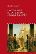 illustration du livre L'affirmation de la puissance romaine en Judée
