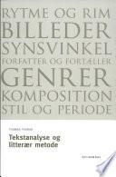 Tekstanalyse og litter  r metode