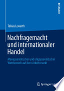 Nachfragemacht und internationaler Handel