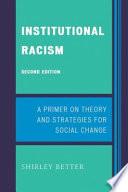 Institutional Racism book