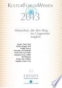 KulturForumWissen 2013