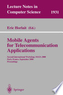Mobile Agents for Telecommunication Applications