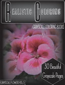 Realistic Coloring Grayscale Flowers Vol 5