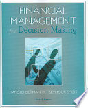 Financial Management for Decision Making