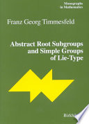 Abstract Root Subgroups And Simple Groups Of Lie Type