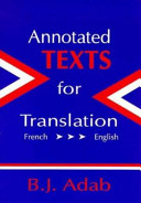 Annotated Texts for Translation