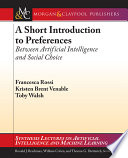 A Short Introduction to Preferences