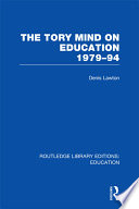 The Tory Mind on Education  1979 1994