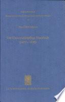 Die Universitätspflege Feuerbach (1477-1825)
