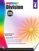 Division Workbook  Grade 4