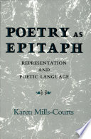 Poetry as Epitaph