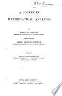 A Course in Mathematical Analysis