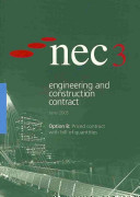 NEC3 Engineering and Construction Contract  ECC   Option B