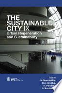 The Sustainable City IX