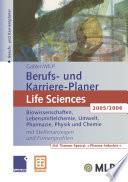 Gabler / MLP Berufs- und Karriere-Planer Life Sciences 2005/2006