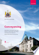 Conveyancing : procedure. the text includes complete coverage...