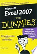 Excel 2007 Voor Dummies
