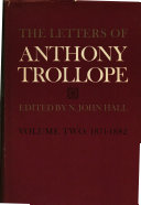 The Letters of Anthony Trollope