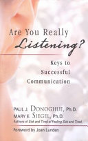 Are You Really Listening  Book PDF