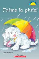 illustration J'aime la Pluie!