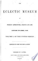 Eclectic Museum of Foreign Literature  Science and Art Book PDF