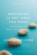 Meditation Is Not What You Think : when