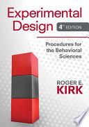 Experimental Design Procedures For The Behavioral Sciences