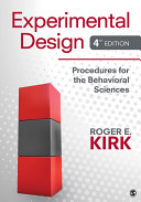 Experimental Design: Procedures for the Behavioral Sciences