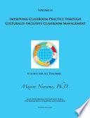 Improving Classroom Practice Through Culturally Inclusive Classroom Management