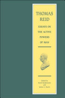 download ebook thomas reid - essays on the active powers of man pdf epub