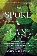 Thus Spoke the Plant Well As Plant Shamans Indigenous Elders
