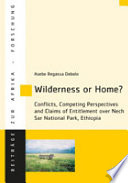 Wilderness or Home