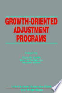 Growth oriented Adjustment Programs