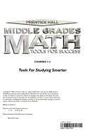 Prentice Hall middle grades math