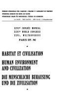 Human Environment and Civilization