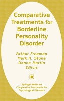Comparative Treatments for Borderline Personality Disorder