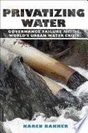 Privatizing Water
